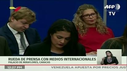 f2c68b617 Video thumbnail for Maduro da 48 horas al Grupo de Lima para rectificar  postura sobre Venezuela
